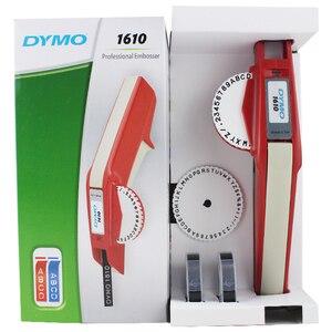 Image 4 - Impressora de etiquetas dymo 3d 1610 3 pz misturado preto, vermelho e azul 9mm 3d plástico gravando xpress manual etiqueta estéreo rotulação mach