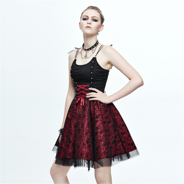 Online Shop Steampunk Womens Bandage Party Ball Gown Summer Gothic