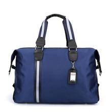 Men Travel Bag Organizer Nylon Waterproof Folding Duffle Fashion Business Packing Cubes Designer
