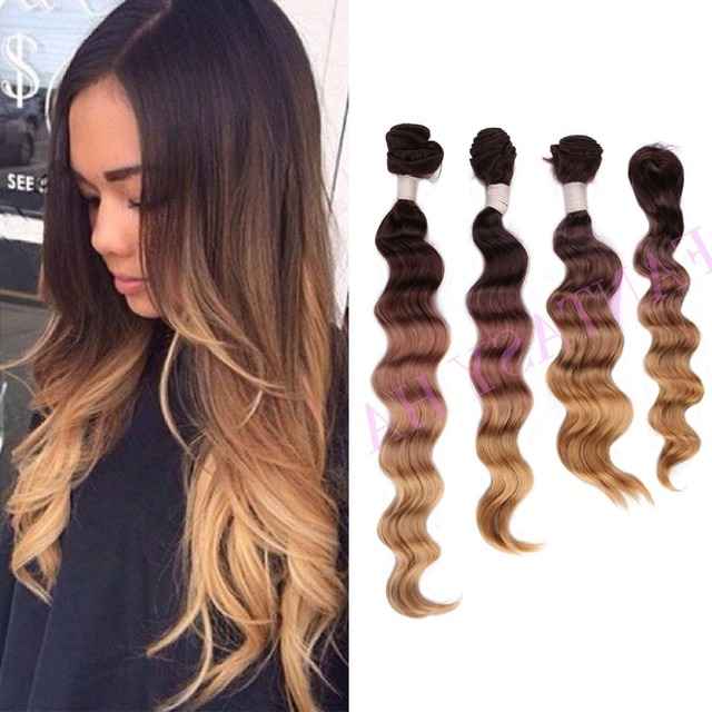 Light brown long ombre brazilian loose wave weave with closure light brown long ombre brazilian loose wave weave with closure ombre synthetic hair extensions synthetic bundles pmusecretfo Choice Image