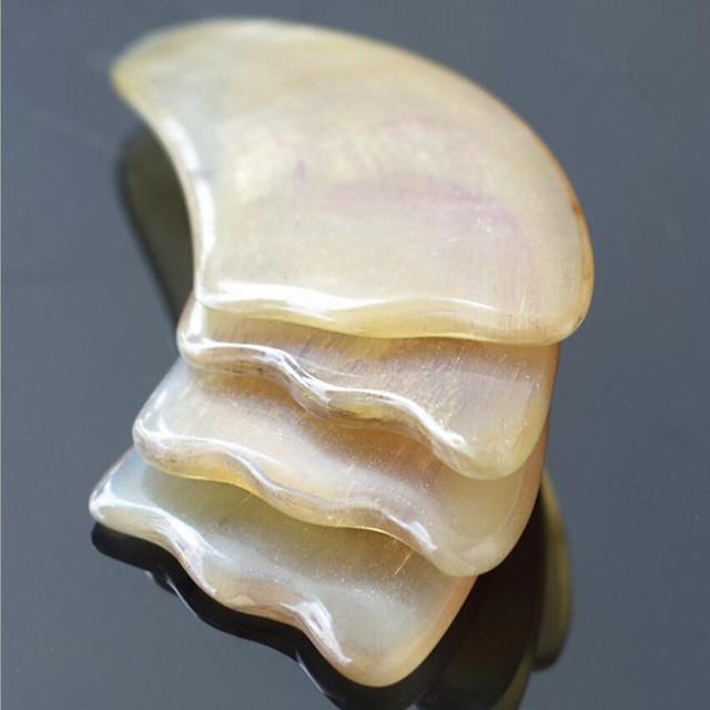 Natural Sheep Horn Gua Sha Massage Tool