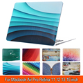 New!!! Case for MacBook Air 13 Luxury Printed Colors Pattern Air 11 12 Hard Cover for Macbook Pro Retina 13 15 Case