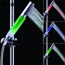 7 цветов светодиодный кран с автоматической сменой светодиодный насадка для душа ручной круглый светодиодный Anion SPA насадка для душа фильтр кран