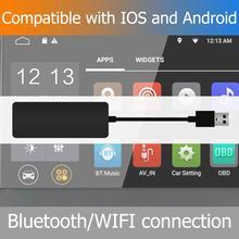 Wireless Smart Link สำหรับ CarPlay Auto USB Dongle สำหรับ Android Car Player