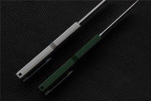 Image 5 - Wysokiej jakości VESPA Ripper, ostrze: M390 (satyna) uchwyt: 7075 aluminium + CF, survival odkryty EDC polowanie narzędzie taktyczne obiad nóż kuchenny