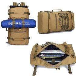 2019 nuevo mochila táctica militar 50L deporte al aire libre Camping bolsas montañismo bolsa de senderismo para hombres mochila de viaje