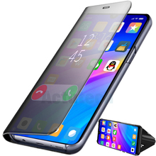 ACTUTECH Clear Mirror View Case For Oneplus 7 Pro 6t 5T Flip PU Leather Stand Phone Cover oneplus 6 5 A Plus7