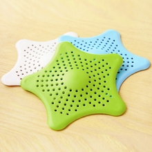 Bathroom Kitchen Sewer Star Filter Silicone Anti-blocking in a Variety of Colors Accessories