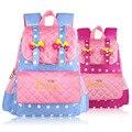 2016 новые школьные сумки для девочек-младенцев мода рюкзак школьников мешок рюкзаки детьми детский сад милый мультфильм бантом дети мешок