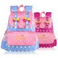2016 New School Bags For Baby Girls Fashion Backpack Kids School Bag Backpacks Child Kindergarten Cute Cartoon Bowknot Kids Bag