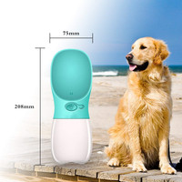 Dog Water Bottle, Pet Portable Dog Water Bottle, Dog Travel Water Cup with Leak Proof, Pet Water Bottle for Outdoor Walking