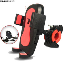 fidget spinner ABS Black Phone holder Universalbisiklet bicycle motorcycle  Automatic lock mobile phone holder three blade alloy abs fidget spinner