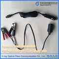 Fujikura FSM-60S FSM-62S FSM-80S fsm-50s fsm-62s fsm-70s Оптическое Волокно Fusion Splicer 12 В DC кабель для зарядки в Автомобиле dcc-12 DCC-13