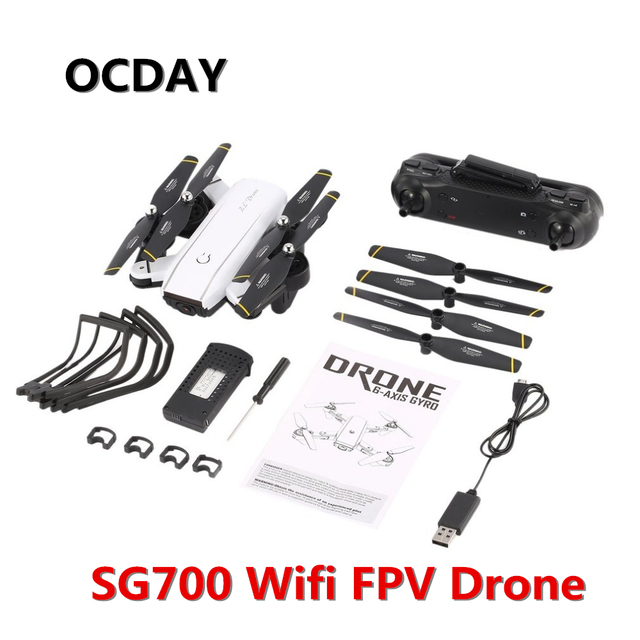 SG700 RC Foldable camera Drones with HD FPV/ WiFi Wide Angle Live...