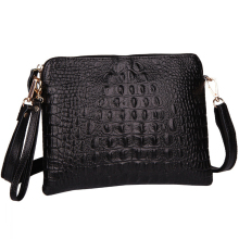 Genuine Leather Women Bag Fashion Women Handbag Alligator Embossed Crocodile Pattern Women Messenger Bags Clutch HB-161