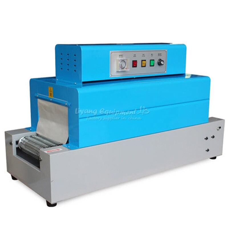 Machine de rétrécissement de la chaleur de transmission de ceinture nette pour emballer la BS-260 de nourriture de vaisselle de boîte de téléphone portable Q10113