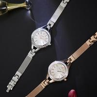 Bestdon Top Brand Fashion Ladies Quartz Watches Bracelet Female Diamonds Quartz Watch Women Thin Casual Strap relogio feminino