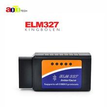 ELM327 Bluetooth V2.1 Interface Works On Android Torque Elm 327 Bluetooth OBD2/OBD II Car Diagnostic Scanner