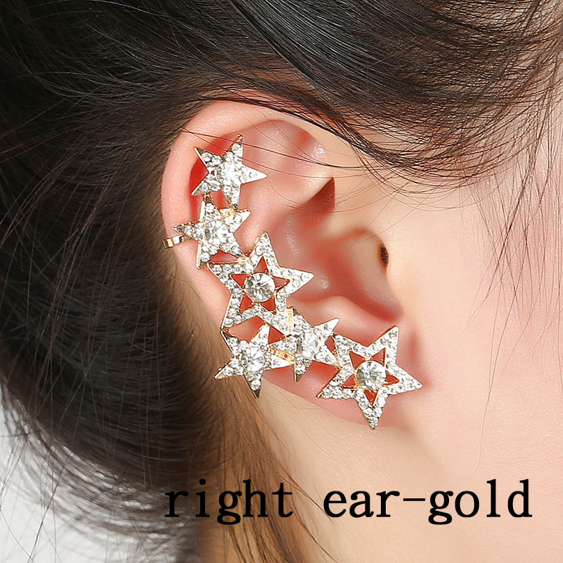 Right ear gold