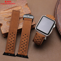 Laopijiang apple iwatch 38/42MM Imported Leather Watchband nubuck leather watch band