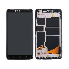For Motorola Moto Turbo XT1254 LCD display and Touch Screen Digitizer glass with Frame assembly Free shipping free tools