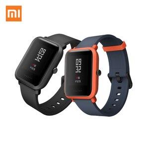 Xiaomi relógio smartwatch midong youth verison, relógio inteligente, com gps, glonass, monitoramento de atividades, ppg, frequência cardíaca, a prova d' água ip68, versão em inglês ajuste perfeito