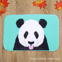 The Latest Design Lovely Tongue Panda Home Bedroom Door Mats Carpet