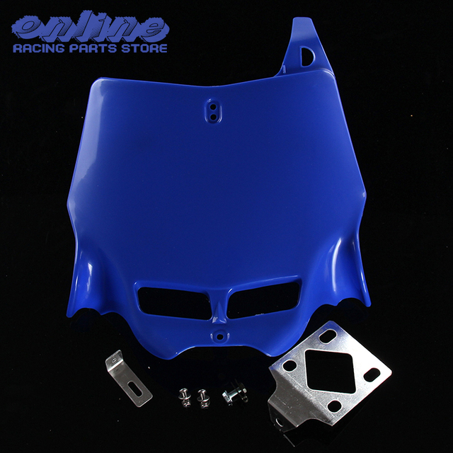 Universal 250CC-450CC Dirt Pit Bike MX Motocross refitting front Number Plate for Plastic Cover  sc 1 st  AliExpress.com & Universal 250CC 450CC Dirt Pit Bike MX Motocross refitting front ...