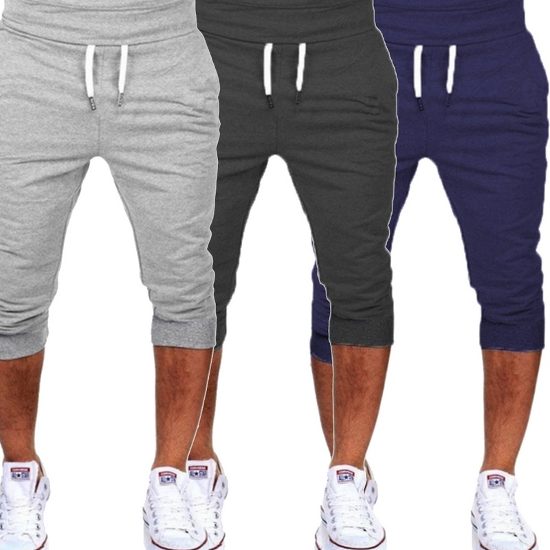2019 New Summer Men's Running Sport Shorts Slim Fitness Jogging Trunks Gray Sport Basketball Soccer Shorts Gym Clothing For Male Delicacies Loved By All
