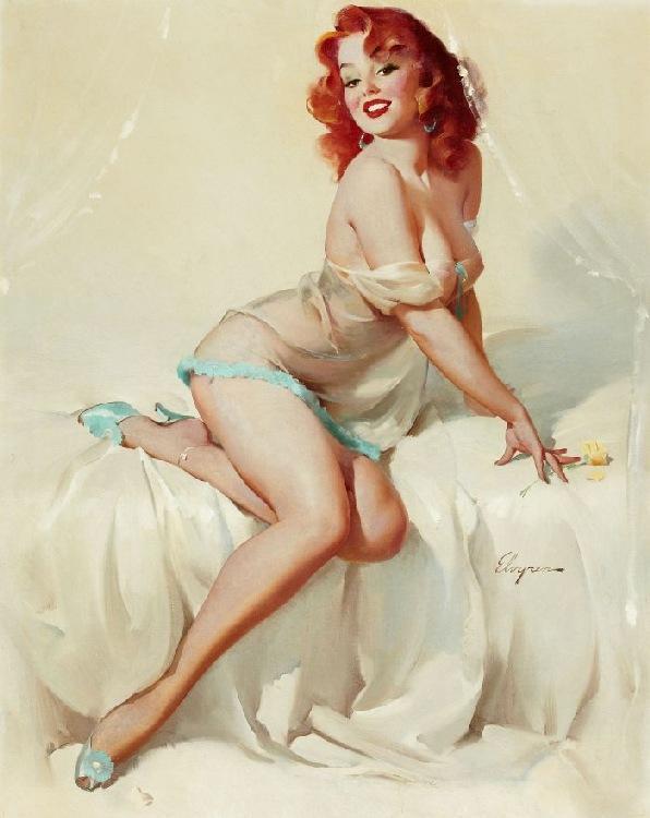 Nude women art poster
