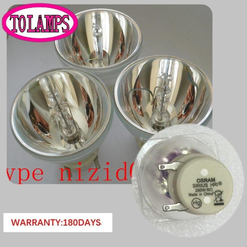 280 W 10R HRI lampe aux halogénures métalliques 280 W ampoule halogène en métal faisceau de lumière mobile ampoules projecteur MSD projecteur lampsPlatinum