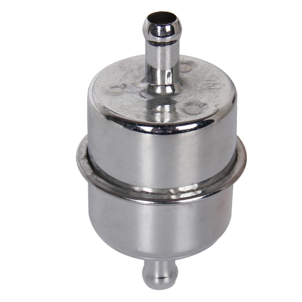 For Gasket 9746 Chrome Fuel Filter With 3 8 Hose Barb Inlet Prelude Outletfuel In Each Air Filters From Automobiles Motorcycles On