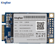 Kingfast Msata mini PC interno SATA II/III MLC 128 GB con caché de 128 Mb de disco duro de Estado Sólido Drive para PC Tablet loptop/escritorio