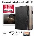 Для Huawei MediaPad M2-A10W случаях M2-A10L кобура перечислены 10 дюйм(ов) чтение tablet защиты компьютера shell PU Кожаный Чехол