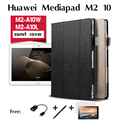 For Huawei MediaPad M2-A10W cases M2 - A10L holster listed 10 inches reading tablet computer protection shell PU Leather Case