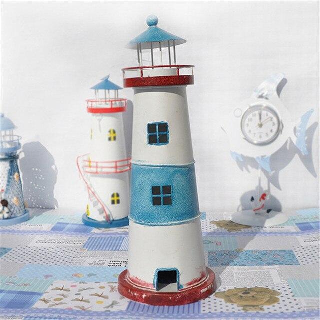 Lighthouse European Castle Miniature Fairy Garden Home Houses ...