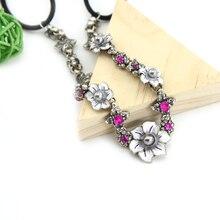 TrinketSea Vintage Silver Flower Elastic Headband Hair Band Head Accessories Wedding Bridal Women Fashion Hairwear Jewelry Pins