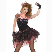 Free Shipping Women's clown Costume Lace Dancing Dress Halloween Cosplay Carnival Party Adult Costume Masquerade Fancy Costume