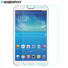 Ultra-thin HD Tempered Glass For Samsung Galaxy Tab 3 8.0 SM-T310 T310 8 inch Scratch-proof Steel Film Screen Protector  шлейф samsung galaxy tab 3 8 0 wi fi sm t310 с разъемом зарядки