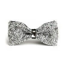 Роскошные модные мужские галстуки-бабочки с бриллиантами и кристаллами, аксессуары для свадебной вечеринки, галстуки для банкета, мужские галстуки-бабочки