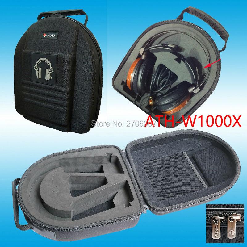 Vmota auriculares para Audio-Technica ATH-W1000X/ATH-AD10/ATH-ADG1X/ATH-L3000/ATH-W10LTD/ATH-W10VTG HiFi auriculares maleta