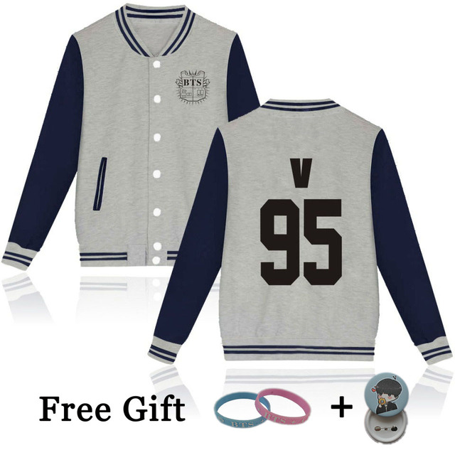 US $13 79 11% OFF|Aliexpress com : Buy New Brand Kpop Hip Hop BTS Bangtan  Boys Baseball Uniform Fashion Hoodies Number Print Skateboard Sweatshirt
