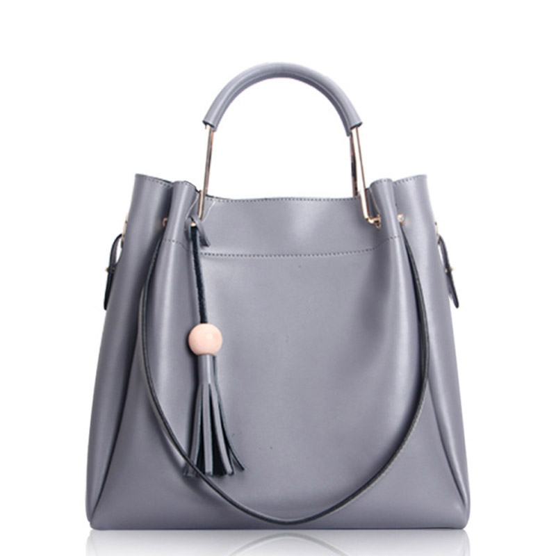 New Fashion Women Bag Handbags Made of pu Leather Women Messenger Bags For Ladies Solid color High Quality Shoulder Bags 2017 new female genuine leather handbags first layer of cowhide fashion simple women shoulder messenger bags bucket bags