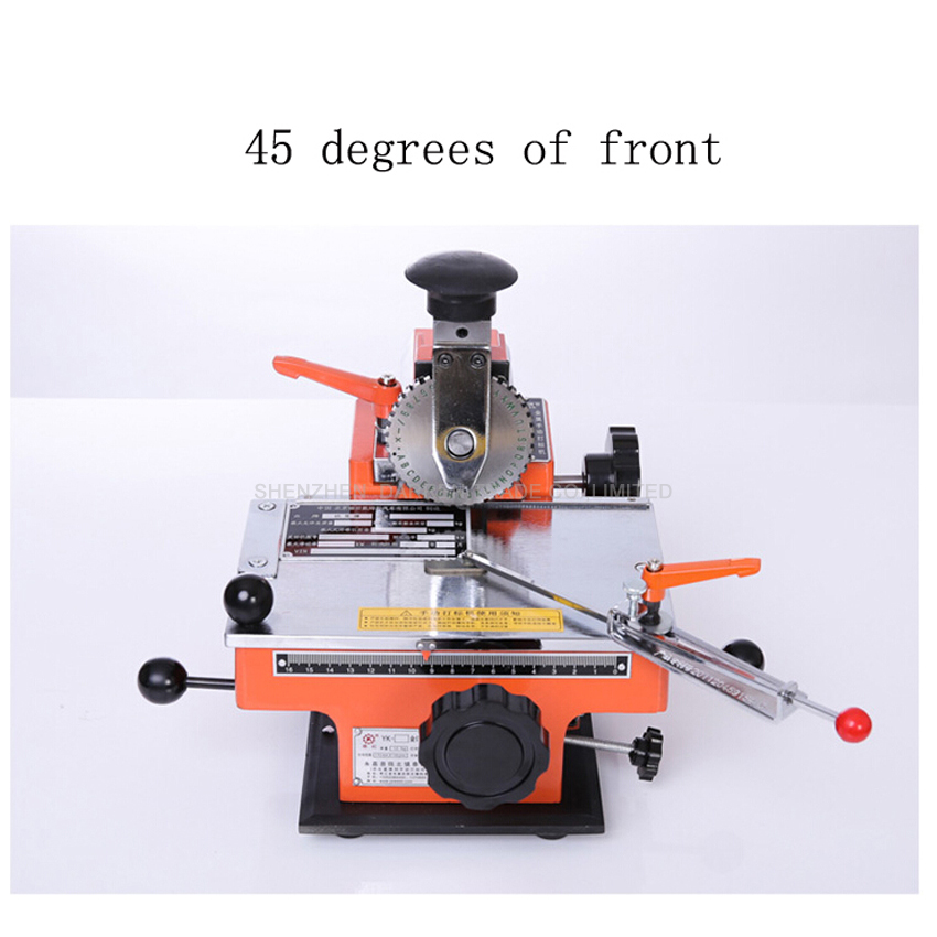 YL-360 Semi-automatic manual marking machine, aluminum labeling coding machine,equipment parameter label printer yl 360 semi automatic manual marking machine aluminum labeling coding machine equipment parameter label printer