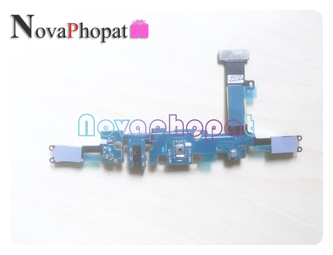 Novaphopat For Samsung Galaxy A3 A310M A310F Charging Port charger connect USB dock flex cable Microphone