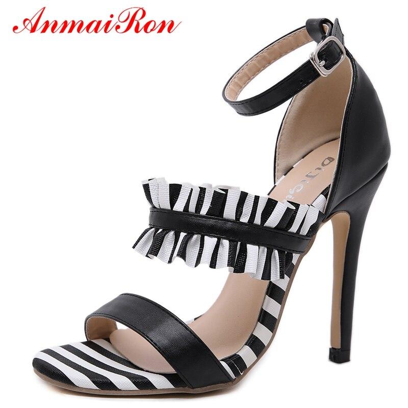 Sandalias Tacón Black Tamaño Verano 40 Mujer Anmairon Zapatos Casuales  Ly562 Zandalias 35 Alto Mujeres Básicos ... 1a4d3891093d