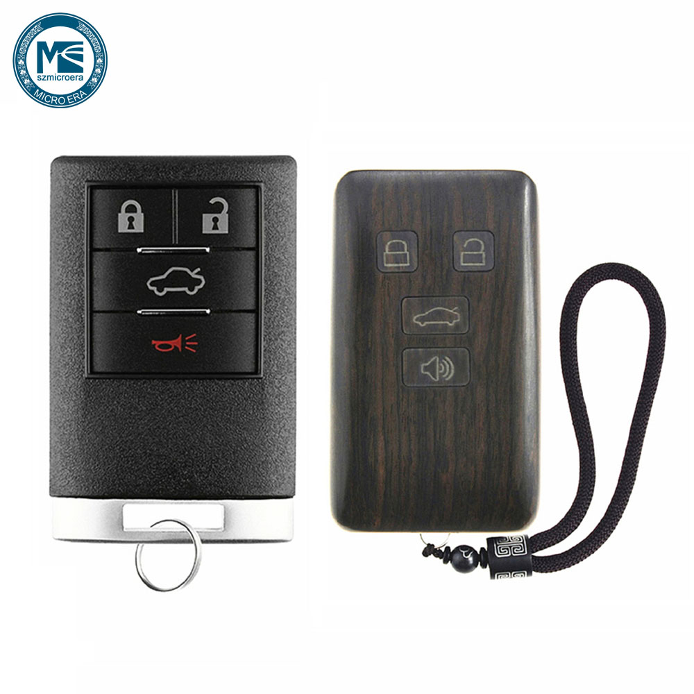 US $46 48 15% OFF|Remote Control Rosewood case Car Key Fob Shell  Replacement for Cadillac STS CTS DTS (Circuit Board & Battery Excluded)-in  Remote