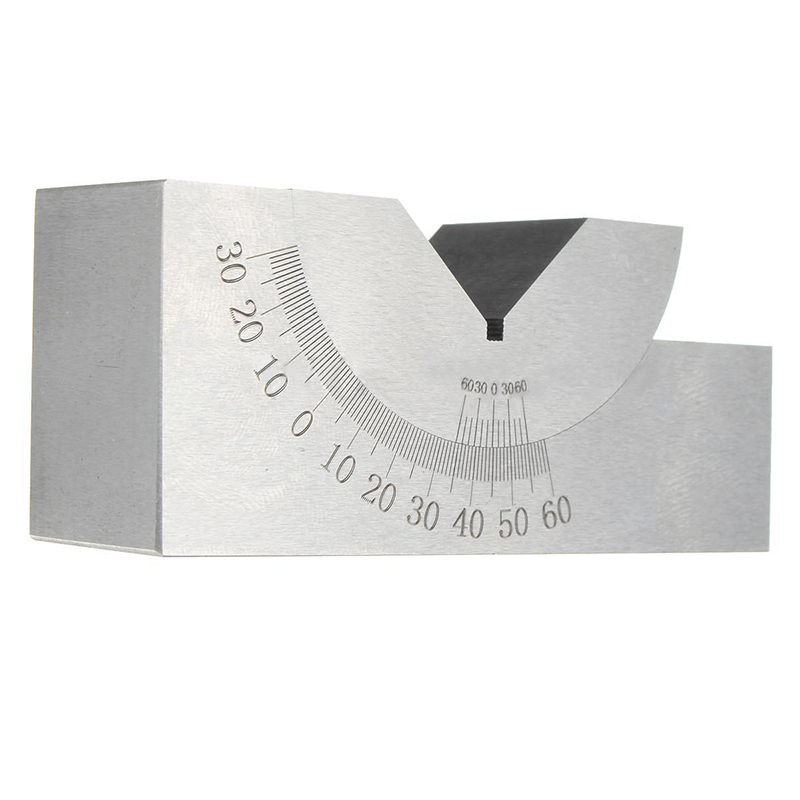 New Toolmaker Precision Gauge Micro Adjustable Angle V Block Milling Setup 0 to 60 Degree gauge block set 103pcs metric milling grinding setup layout machinist l99
