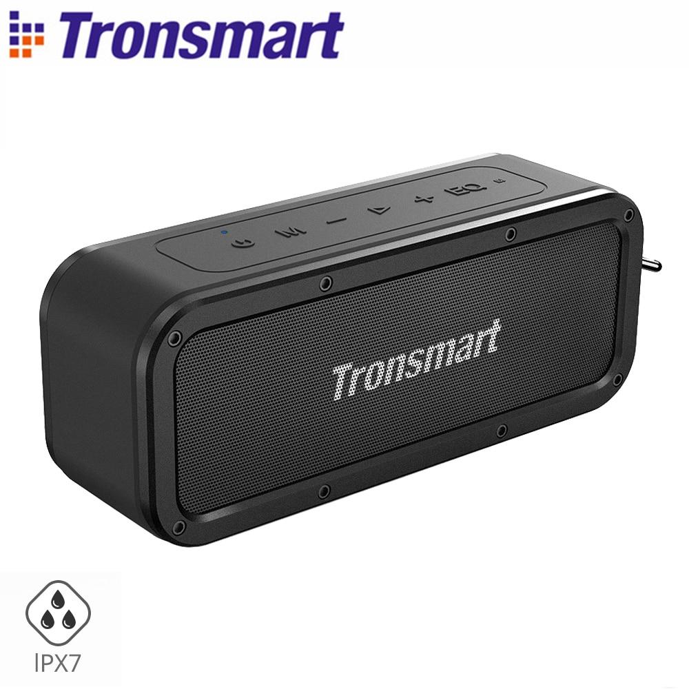 Tronsmart Force Portable Bluetooth haut-parleur 40 W IPX7 étanche musique Surround extérieur haut-parleur Microphone haut-parleur pour téléphones