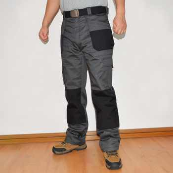 Mens Cargo Pants With Holster Pocket Cordura Knee Pocket Work Trouser Full Length Long Pant Plus Size Brand Clothing ID713 - DISCOUNT ITEM  42% OFF All Category